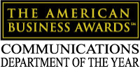 EFG Companies received a Gold for Communications Department of the Year during the 15th Annual American Business Awards. (Graphic: Business Wire)