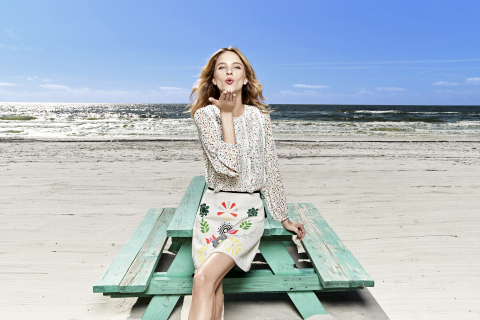 CR by Cynthia Rowley is a cheerful, limited-time summer collection, available exclusively at select  ...
