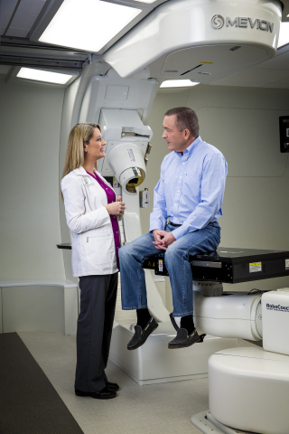 The MEVION S250 at Ackerman Cancer Center has treated 526 patients in its first two years. (Photo: Business Wire)