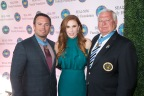 Medal of Honor recipient Senior Chief Special Warfare Operator Edward C. Byers, Jr.; Dominique Plewes, event co-chair, and SEAL Family Foundation board member; and Medal of Honor recipient Lieutenant (SEAL) Michael E. Thornton, USN (Ret). (Photo: Business Wire)