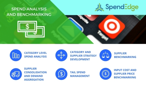SpendEdge offers a variety of spend analysis and benchmarking services. (Graphic: Business Wire)
