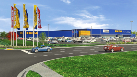 Ikea secures contractors for new store in milwaukee for Ikea bloomington minnesota