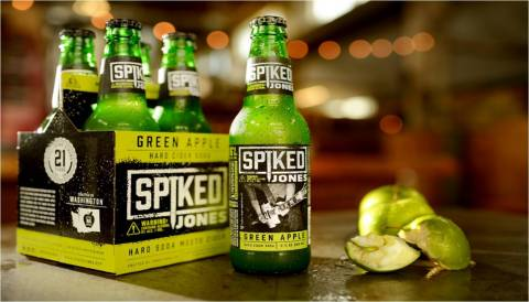 Jones Soda Co. celebrates turning 21 with Spiked Jones Hard Cider-Soda. (Photo: Business Wire)