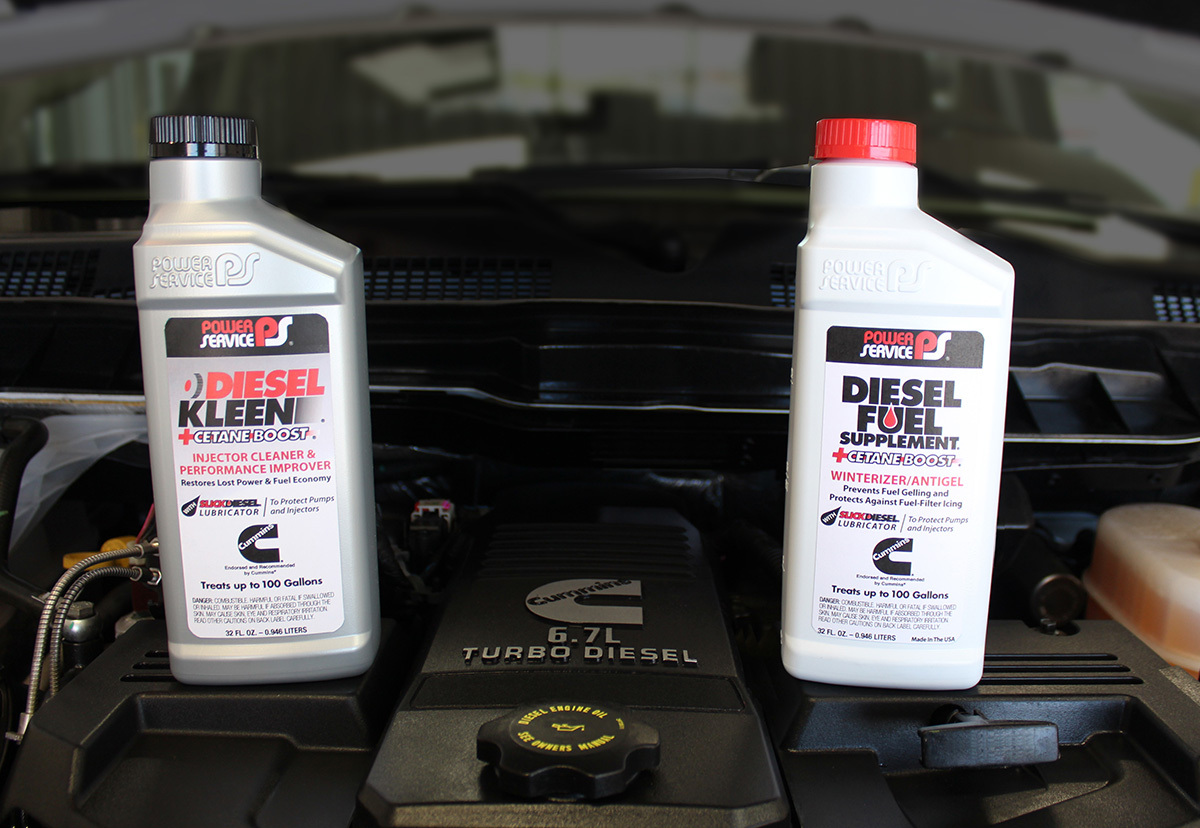 Cummins, Inc  Officially Recommends Power Service® Diesel Kleen +