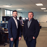 From left to right: Ryan Stewart, Chief Commercial Officer, North America, Bambora, and Kevin Weatherston, Chief Operating Officer, North America, Bambora. (Photo: Business Wire)