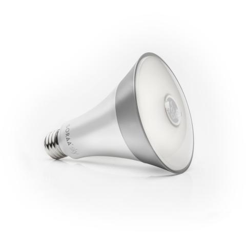 The consumer-focused SORAA Sky bulb has won a LIGHTFAIR International 2017's Innovation Award. (Photo: Business Wire)