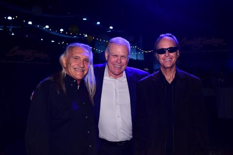 Barrett-Jackson Announces Retirement of Vice President of Consignment Gary Bennett. From left to right: Gary Bennett, Craig Jackson, Steve Davis (Photo: Business Wire)