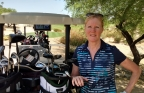 """Kathy Winter, vice president and general manager of the Automated Driving Solutions Division at Intel Corporation, writes: """"Just as you need different clubs to get you through 18 holes of golf, you need different kinds of processors to 'drive' an autonomous car."""" (Credit: Intel Corporation)"""