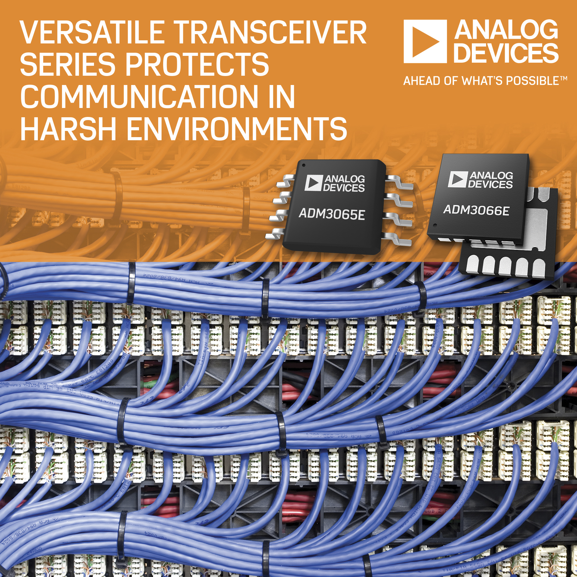 analog devices\u0027 versatile 50 mbps rs 485 transceiver series protects