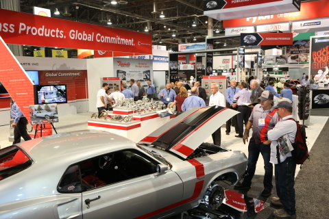 The latest new products, services and technologies from 2,200 exhibiting companies in the automotive aftermarket industry are on display during AAPEX in Las Vegas. (Photo: Business Wire)