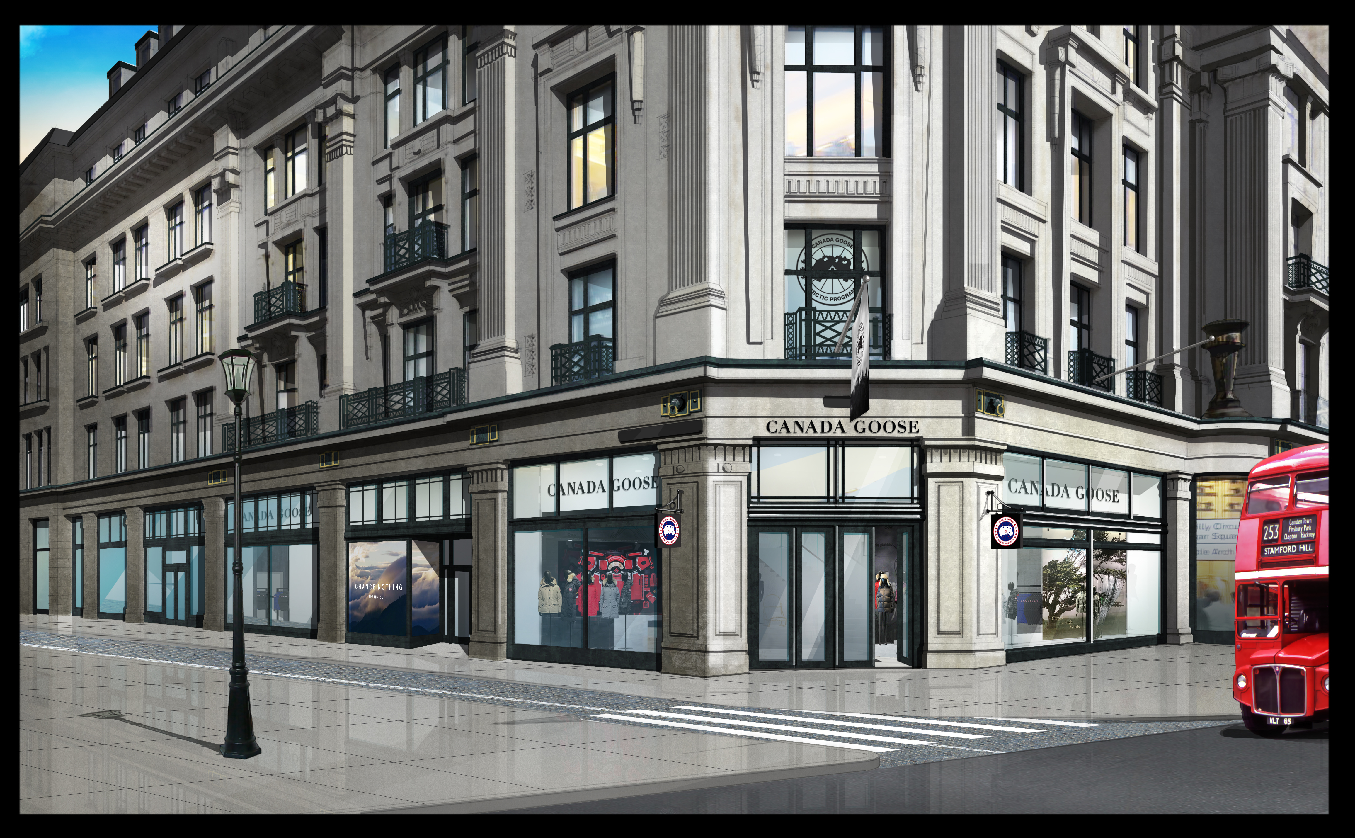 Canada Goose London Flagship Store Rendering (Photo: Business Wire)