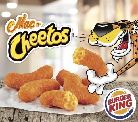 Mac n' Cheetos™ Are Back at BURGER KING® Restaurants