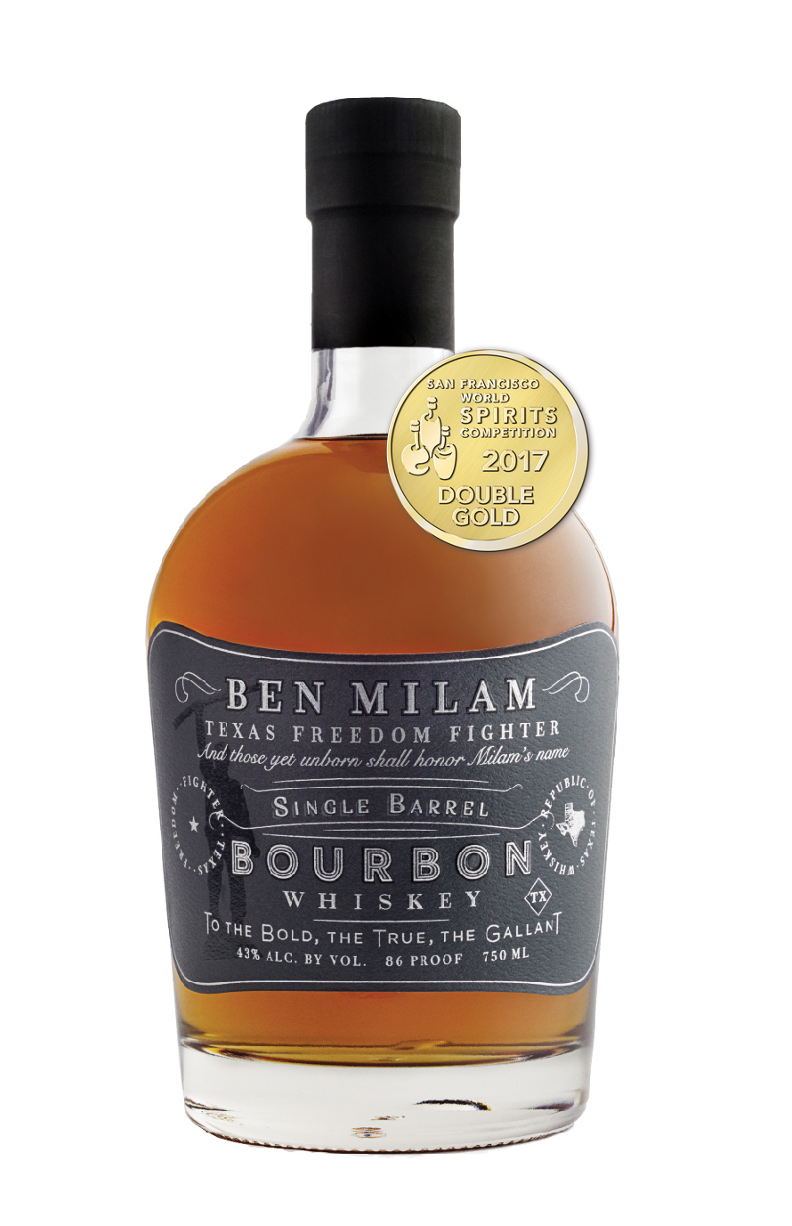 Ben Milam Bourbon Wins Double Gold (Photo: Business Wire)