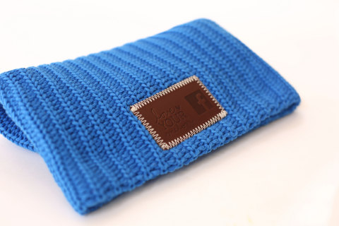 Facebook co-branded beanie (Photo: Business Wire)