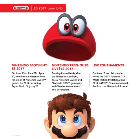 As part of Nintendo's plan to deliver news about upcoming games all throughout the year, the company will provide a packed week of activities at the E3 video game show, which runs from June 13 to June 15 in Los Angeles. (Photo: Business Wire)