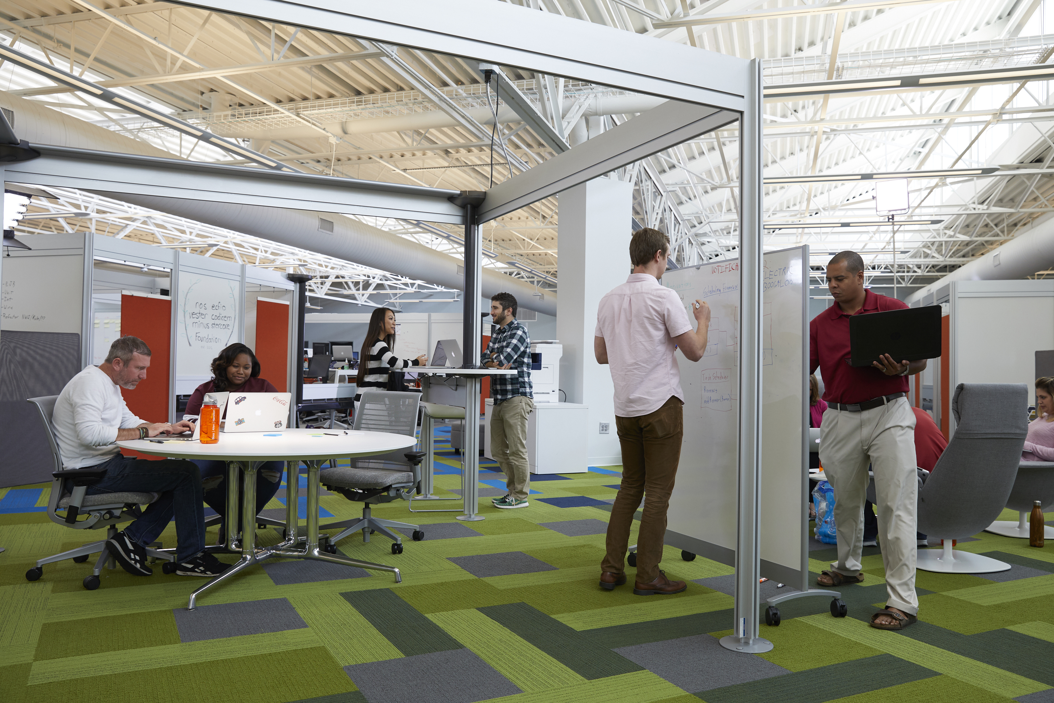 At its newly expanded Charleston Digital Hub at Clements Ferry Road, the firm expects to expand from 310+ to 400+ employees by calendar year's end to capitalize on the growing demand for its digital services. (Credit: Booz Allen)