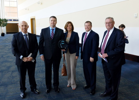 IMPACT Award (L to R): Carter Johnson, Jeff Murphy, Andrea Czop, Jim Napier, Jim Hall (Photo: Business Wire)