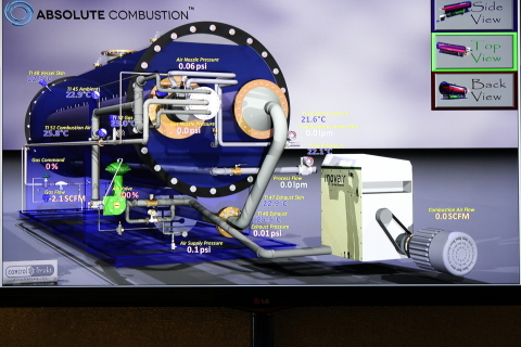 Absolute Combustion Burner Technology (Graphic: Business Wire)