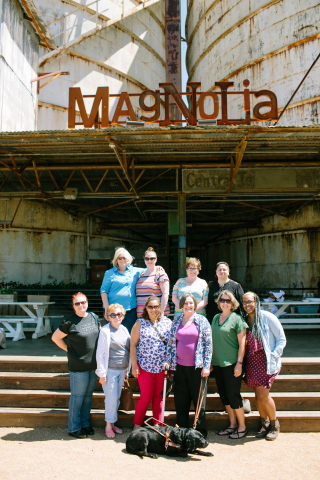 FedEx Office team members shared family stories to win a Mother's Day contest that included a shopping spree at the famed Magnolia Market in Texas. (Photo: Business Wire)