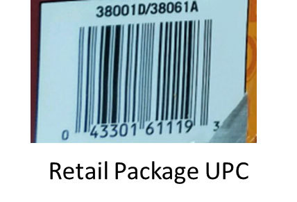 Retail Package UPC. (Photo: Business Wire)