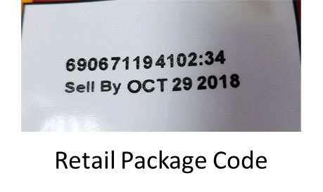Retail Package Code. (Photo: Business Wire)