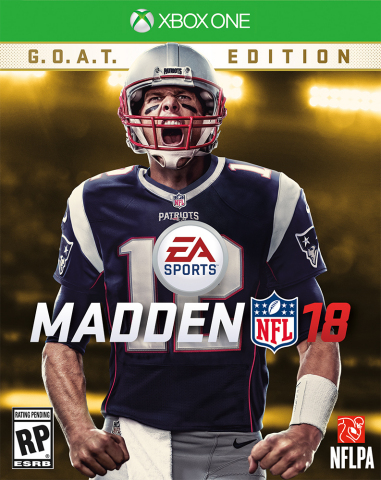 Tom Brady Named EA SPORTS Madden NFL 18 Cover Athlete (Photo: Business Wire)