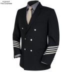 A double-breasted blazer worn by Flexjet Red Label large-cabin pilots (Photo: Business Wire)