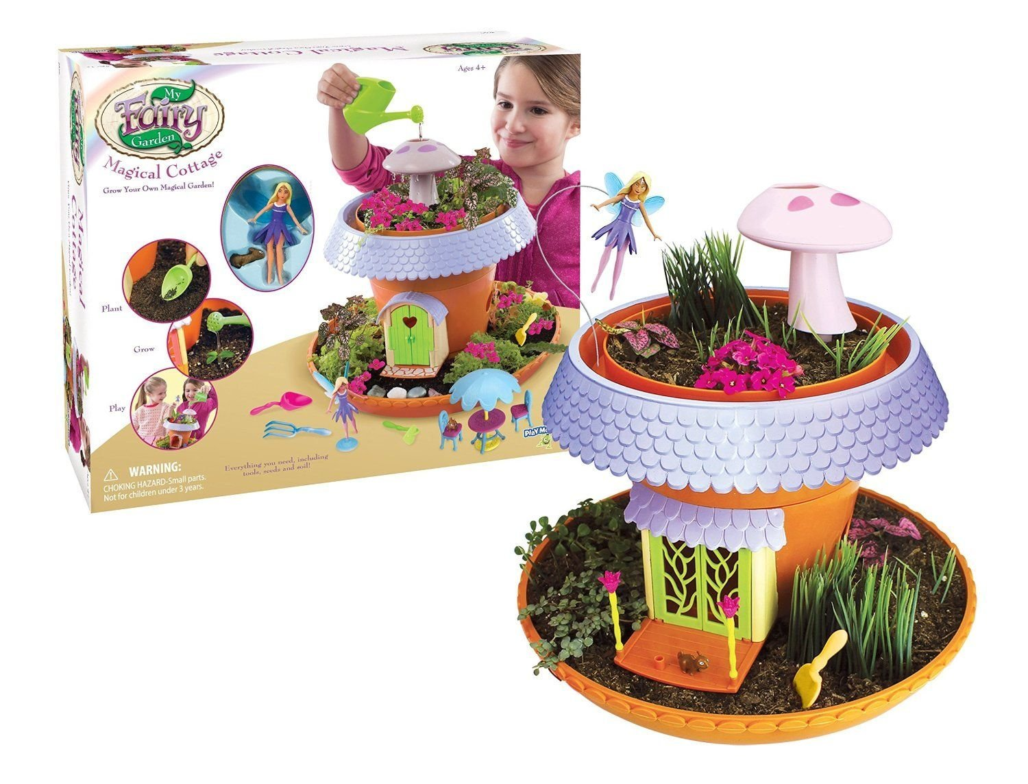 My Fairy Garden Magical Cottage Playset (Photo: Business Wire)
