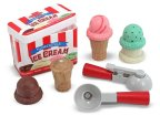 Melissa & Doug Scoop and Stack Ice Cream Cone Magnetic Pretend Play Set (Photo: Business Wire)