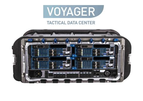 Voyager TDC front view showing the four Voyager TDC Blades and Voyager TDC Switch (Photo: Business Wire)