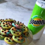 Bounty & Duff Goldman's Rainbow Chocolate Chip Cookies (Photo: Business Wire)