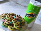 Bounty & Duff Goldman's Rainbow Chocolate Chip Cookies (Photo: Business Wire)