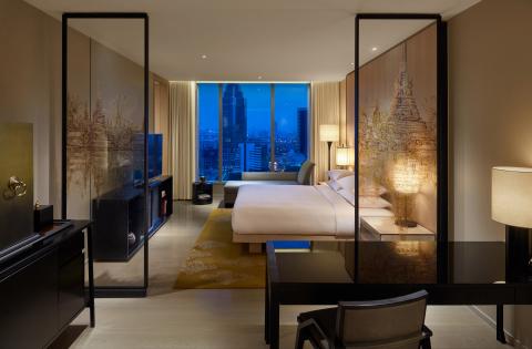 Park King Guestroom at Park Hyatt Bangkok (Photo: Business Wire)