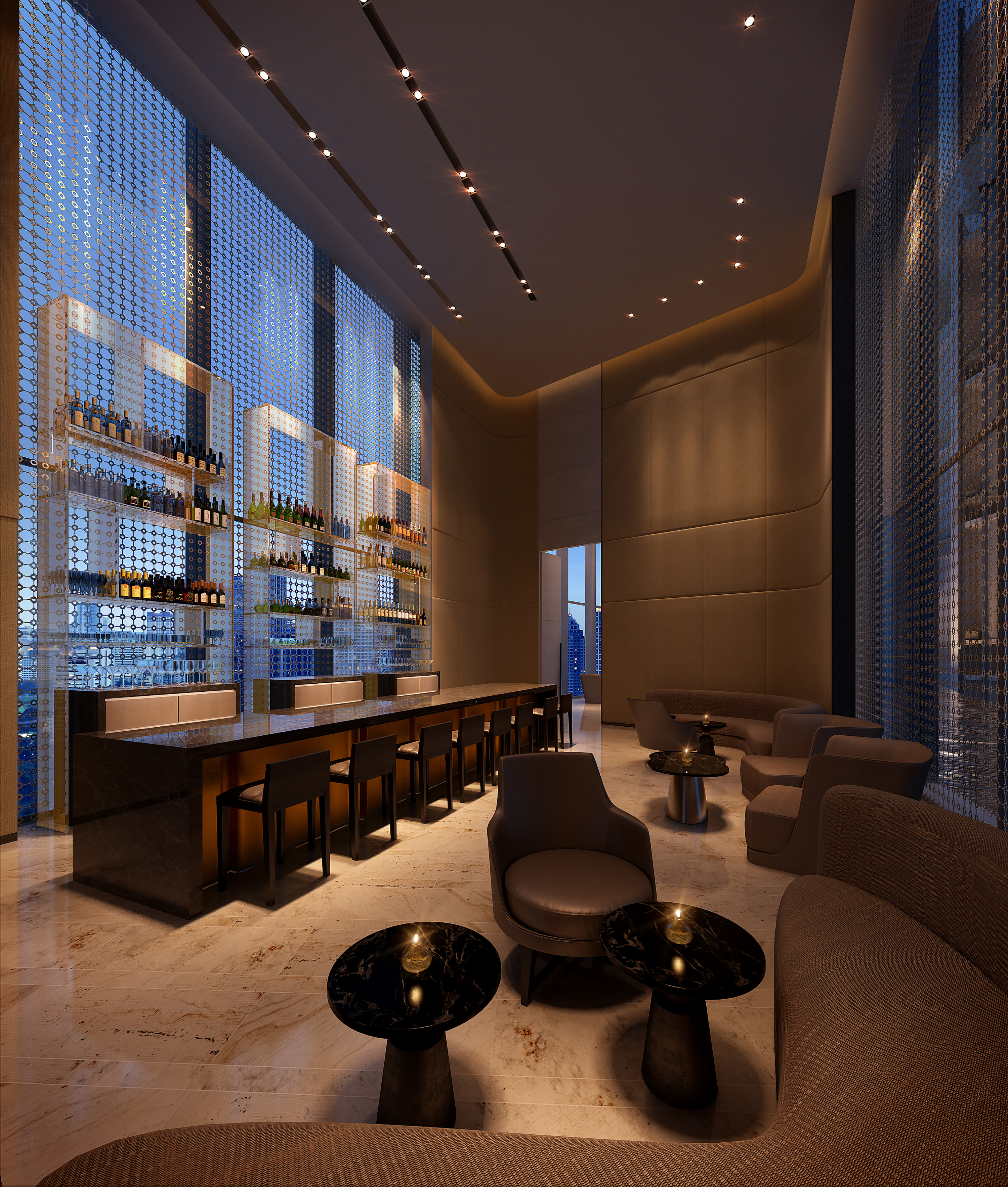 The Bar at Park Hyatt Bangkok (Photo: Business Wire)