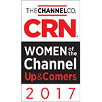CRN Women of the Channel Up & Comer (Graphic: Business Wire)