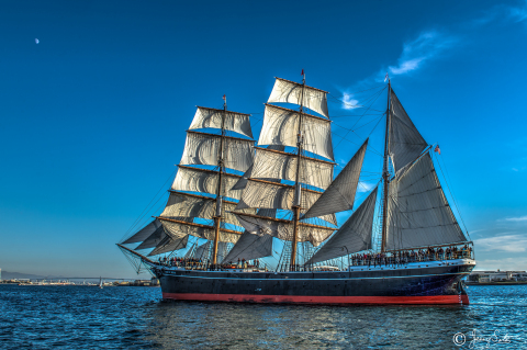 Star of India, World's Oldest Active Sailing Ship, Maritime Museum of San Diego (Photo: Jerry Soto)