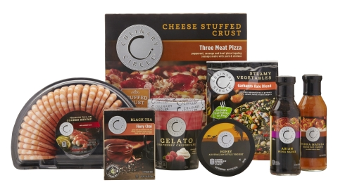 A sampling of Culinary Circle items offered by SUPERVALU. (Photo: Business Wire)