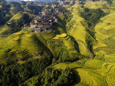 TCS World Travel Destination, Longsheng China (Photo: Business Wire)