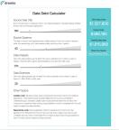 Dremio Big Data Debt Calculator (Photo: Dremio)