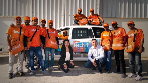fetchr Team Group Photo with Ms. Joy Ajlouny and Mr. Idriss Al Rifai (Photo: ME NewsWire)