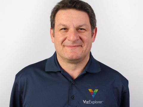Fivos Polymniou joins VizExplorer to head International Sales. (Photo: Business Wire)