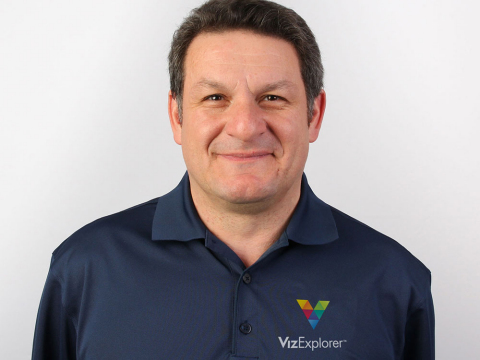 Fivos Polymniou joins VizExplorer to head International Sales. (Photo: Business Wire)