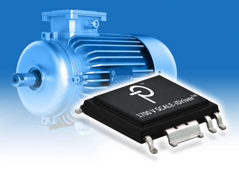Compact, efficient SCALE-iDriver™ IC family from Power Integrations supports 1700 V IGBTs (Photo: Bu ...