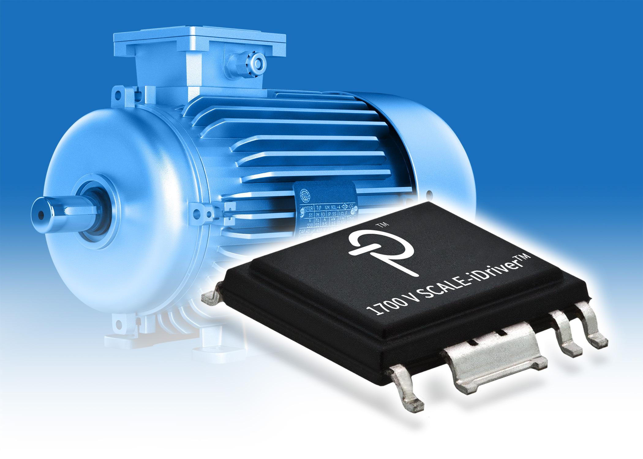 Power Integrations 的輕巧節能型 SCALE-iDriver™ IC 系列支援 1700 V IGBT (照片:美國商業資訊)