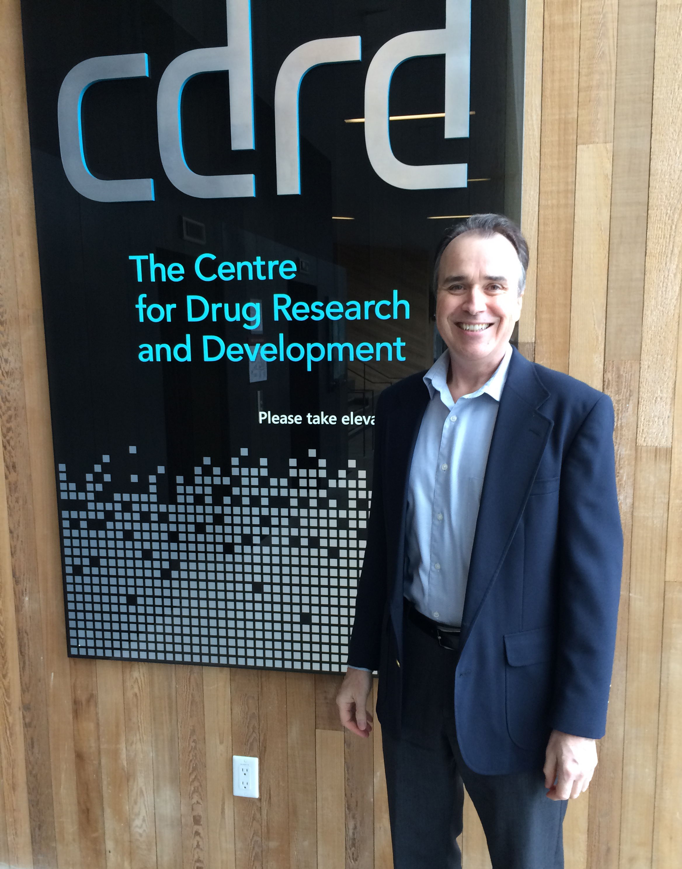 Dr. Wayne Cheney visits CDRD to kick off novel immunotherapy research project. (Photo: Business Wire)