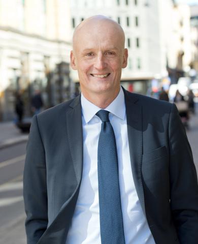 グラントソントンの次期グローバルCEOのピーター・ボディン(写真:ビジネスワイヤ)