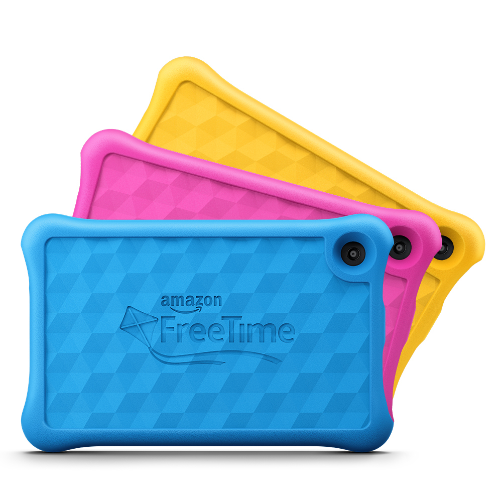 Amazon Fire 7 Kids Edition Tablets (Photo: Business Wire)