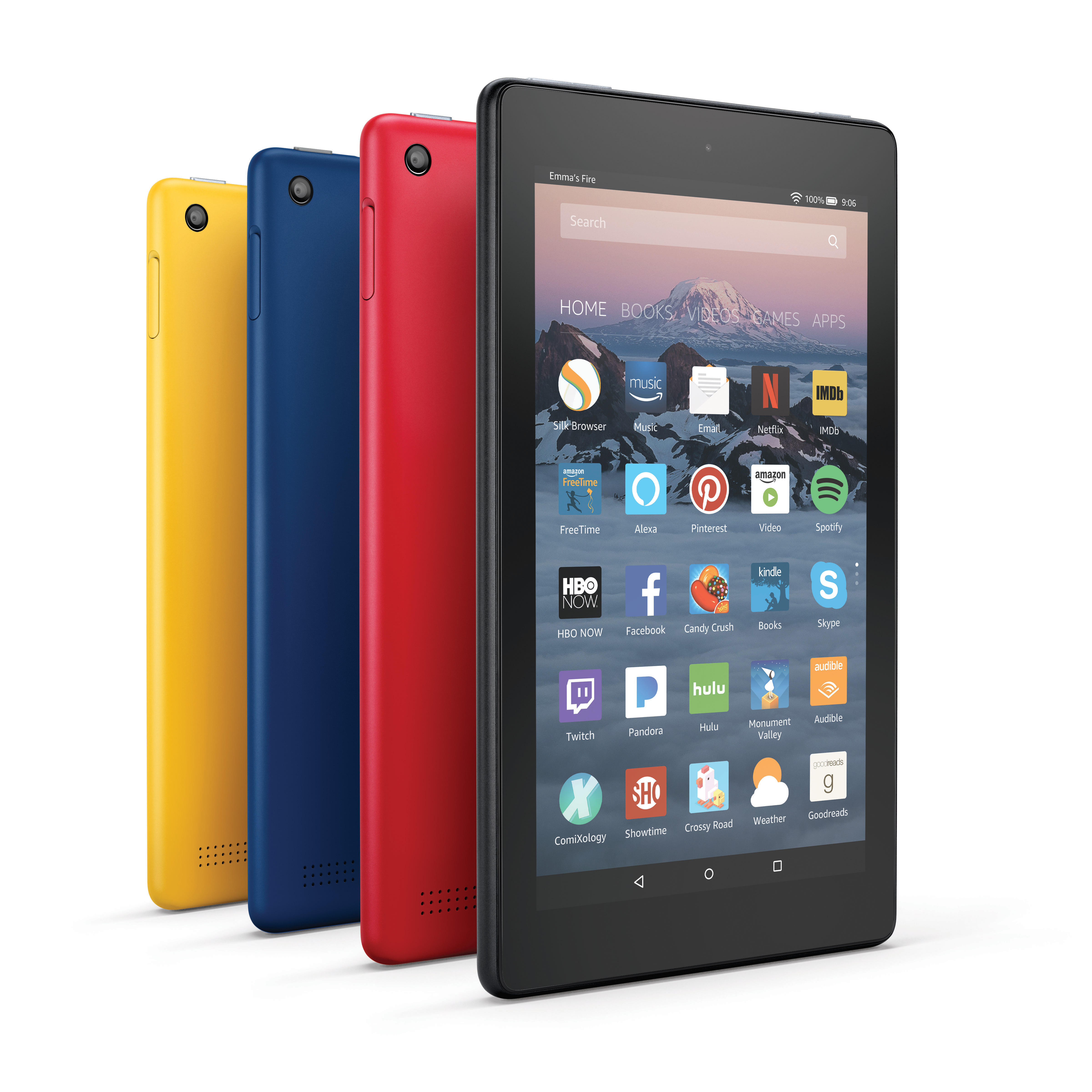 Amazon Fire 7 Tablet (Photo: Business Wire)