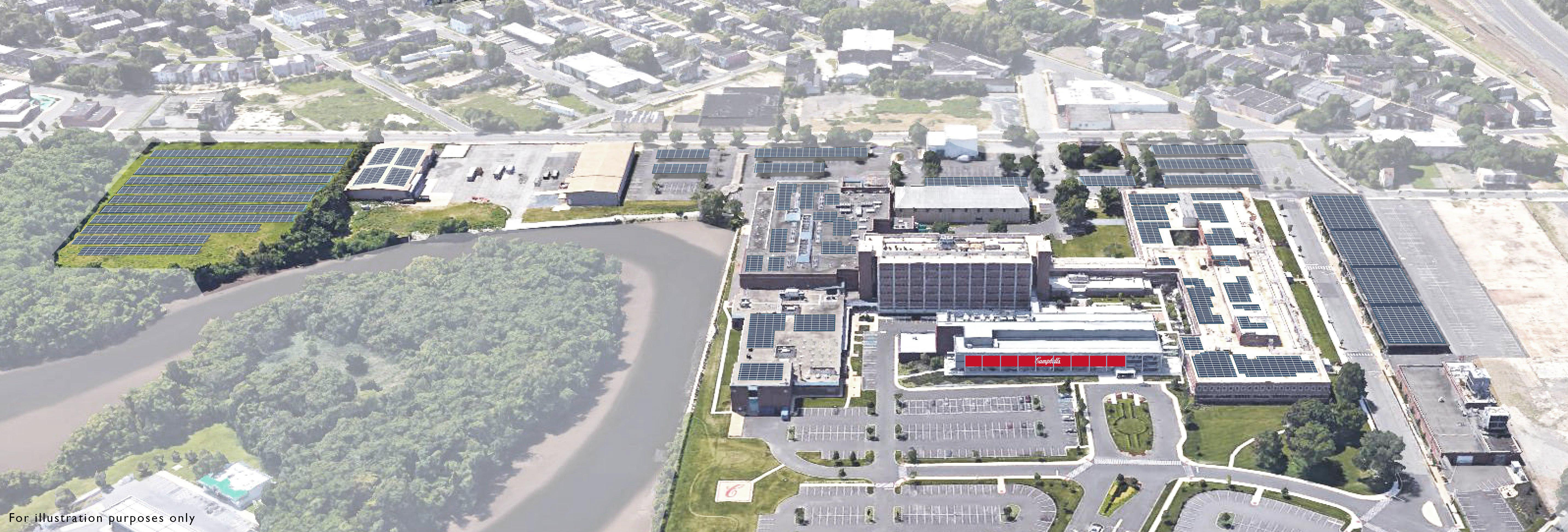 Campbell Soup Company announces new 4.4-megawatt solar array at its World Headquarters in Camden, N.J. (Photo: Business Wire)