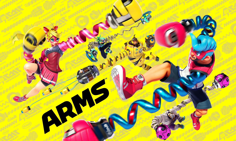 Resultado de imagem para arms nintendo switch